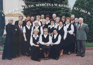 Chór 2003 r. - Kłobuck